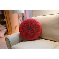 Wholesale Strawberry Fruits Series Outdoor Textiles Rounded Micro Velvet Cushions from china suppliers