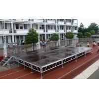 Wholesale Waterproof Movable Stage Platform , Folding Stage Aluminum T6082-T6 from china suppliers