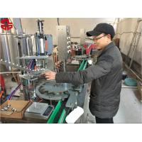 Wholesale Aerosol Paint Filling Machine / Aerosol Can Filling Line For Snow Sprays , Party Strings from china suppliers