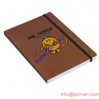 Wholesale a4 a5 a6 a7 PU leather notebook with painted edge,branded PU leather notebook from china suppliers