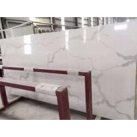 Wholesale Wholesale Grey Veins White Calacata Quartz Stone for Kitchen Countertop from china suppliers