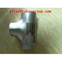 Wholesale ASTM A403/A403M WPS31254 UNS S31254 Stainless Steel Pipe Fittings Equal and Reducer tee from china suppliers