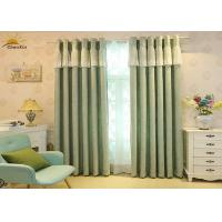 Wholesale Heavy Weight Jacquard Window Curtains For Living Room 75% - 85% Shading from china suppliers