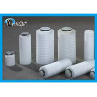 Quality DLQF Series Micron High Flow Filter Cartridges ISO9001 FDA Standard Long Service Life for sale