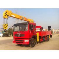 Wholesale Dongfeng 4x2 4 Ton Crane Truck , 2 Axles Truck Mounted Telescopic Crane from china suppliers