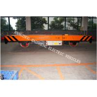 Quality rail flat car rail transport car 40ton load capacity battery power 48V voltage DC for sale