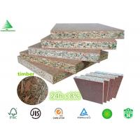Wholesale E1 /E0 kitchen cabinets manufacturing 18MM highly moisture resistant particle board from china suppliers