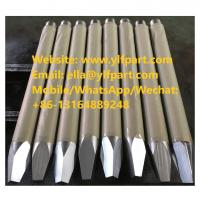 China Rhino rhb322 rhb323v rh313-v rhb325 rhb326 rhb330 rhb340 rhb350 rhb328 hanwoo hydraulic breaker spare parts chisel for sale