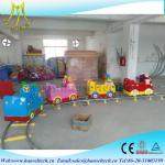 Wholesale Hansel amusement park rides mini electric train indoor amusement park train from china suppliers
