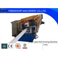 Buy cheap Aluminum Coil Downspout Pipe Roll Forming Machine With Decoiler from wholesalers