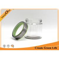 Wholesale 800ml glass food storage jars / Bottle With Visible Metal Screw Lid from china suppliers