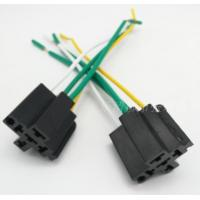 Wholesale custom-made  40A  automotive relay socket (with wire) /  Auto socket / universal relay socket. from china suppliers
