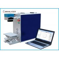 Wholesale 20W Air Cooling Portable Fiber Laser Marking Machine With Rotary Devices from china suppliers