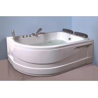 Wholesale Air Bath Tub With Heater , 2 Person Jacuzzi Tub Indoor Handle Shower Included from china suppliers