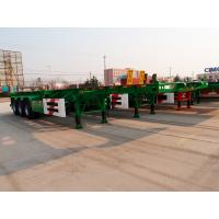 Wholesale 20ft 40 ft size fuwa axle skeletal container trailer - CIMC Vehicle from china suppliers