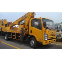 Quality Operating Radius 7.6m Boom Lift Truck XZJ5067JGK For Aerial Work for sale