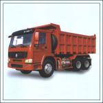 Double T - Cross Section Beam Mining Dump Truck Euro 3 For Heavy Duty Transportation
