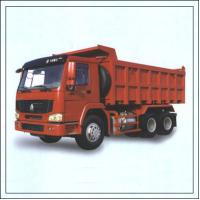 Quality Double T - Cross Section Beam Mining Dump Truck Euro 3 For Heavy Duty Transportation for sale