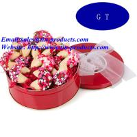 Wholesale Beautiful and Lovely Promotion Biscuit Tin Box, Metal Biscuit Can, Biscuit Box in China from china suppliers