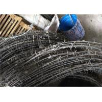 Wholesale Barbed Tape Concertina Gaucho Barbed Wire Prison High Security Spiral Barbed Wire Fence from china suppliers