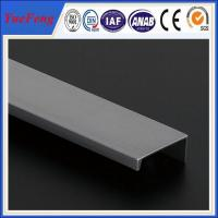 Wholesale New design 6063 or 6061 aluminum extrusion profiles for aluminum roll up door from china suppliers