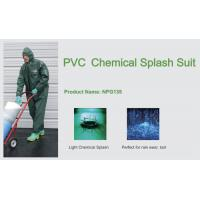 Wholesale PVC Chemical Splash Suit,NPG135,Light chemical splash from china suppliers