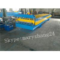 Wholesale PPGI Steel corrugated sheet roll forming machine , roofing sheet making machine from china suppliers