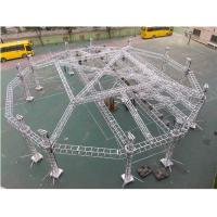 Wholesale Portable Adjustable Aluminum Box Truss Mobile Stage For Exhibition Easy Installation from china suppliers