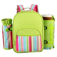 Wholesale Picnic Table ware Backpack Storage Outdoor Hiking camping bag Travel Plates Cutlery Set from china suppliers