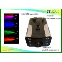 Wholesale 7 Different Colors Indoor Stage Fog Machine 3 - In - 1 Led Remote Control / Dmx512 from china suppliers