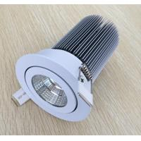 Quality Silver aluminum housing COB LED downlight 10W for sale