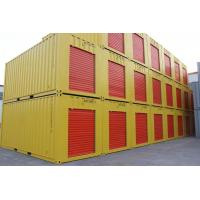 Wholesale 20ft beautiful lock lever storage container cusromised color doors style from china suppliers
