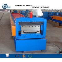 Wholesale Color Steel Aluminium Roof Panel Standing Seam Roll Forming Machine With Hydraulic System from china suppliers