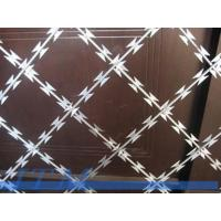 Wholesale [15 years factory]Blade Sharp Protective Barbed Razor Wire Mesh from china suppliers