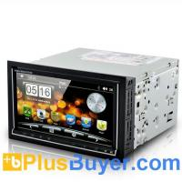 """Buy cheap Road Cyborg - 6.95"""" Dual OS Car DVD Player (Android 2.3 + WIN CE, 3G + WiFi, GPS) from wholesalers"""