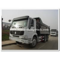 Quality Sinotruk SWZ 336 hp heavy duty dump truck with 20m3 cargo body and strong reinforced frame for sale