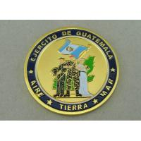 Wholesale EJERCITO DE Guatemala Personalized Coins by Zinc Alloy Die Casting And Gold Plating from china suppliers