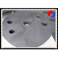 Wholesale Rigid Graphite Board Thermal Insulation , PAN Based Insulation Felt Round Shape from china suppliers