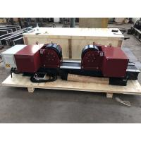 Wholesale 20T/ 44000LBS Bolt Adjustment Pipe Welding Rollers With Pu Wheels from china suppliers