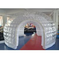 Wholesale Large Transparent Inflatable Event Tent / Fire - Retartant Clear Inflatable Bubble Tent from china suppliers