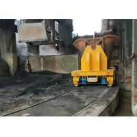 Buy cheap 60t Turkey foundry plant steel scrap transfer car on curving rails from wholesalers