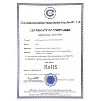 DUBANG TECHNOLOGY CO., LIMITED Certifications
