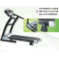 Wholesale LED Display Cardio Fitness Equipment , Portable Electric Running Treadmill from china suppliers