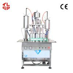 Quality Semi Automatic Aerosol Filling Machine For Perfume / Body Spray / Deodorant Sprays for sale