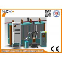 Quality Powder Coating Spray Booth with mono cyclone recovery system for sale