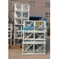 Wholesale Red Painted Double Cage Man And Material Hoist 1600kg , Building Materials Lift from china suppliers