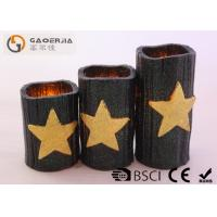 Wholesale CE / RoHS Approved Halloween Battery Operated Candles 7.5cm Diameter from china suppliers