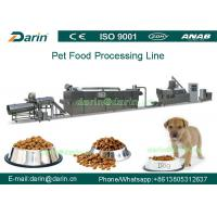 Wholesale 150kg/h - 500kg/h Dry pet dog food making machine for Wheat , rice , corn from china suppliers
