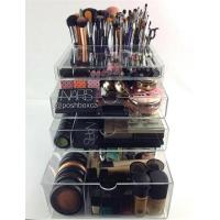 Wholesale Professional Manufacture High clear acrylic cosmetic box for storage makeup from china suppliers