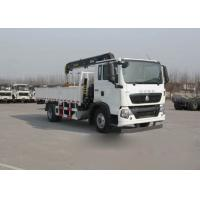 Wholesale Small Truck Mounted Cranes 5-10 Tons HIAB , Knuckle Boom Crane Truck from china suppliers